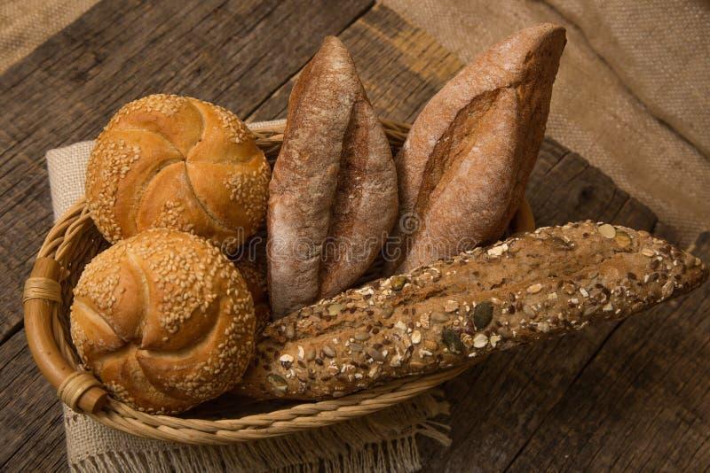 Vário pão foto de stock