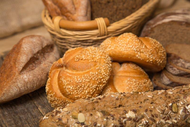 Vário pão imagens de stock