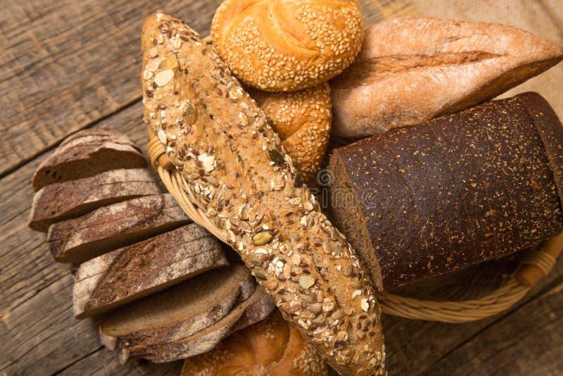 Vário pão imagem de stock royalty free