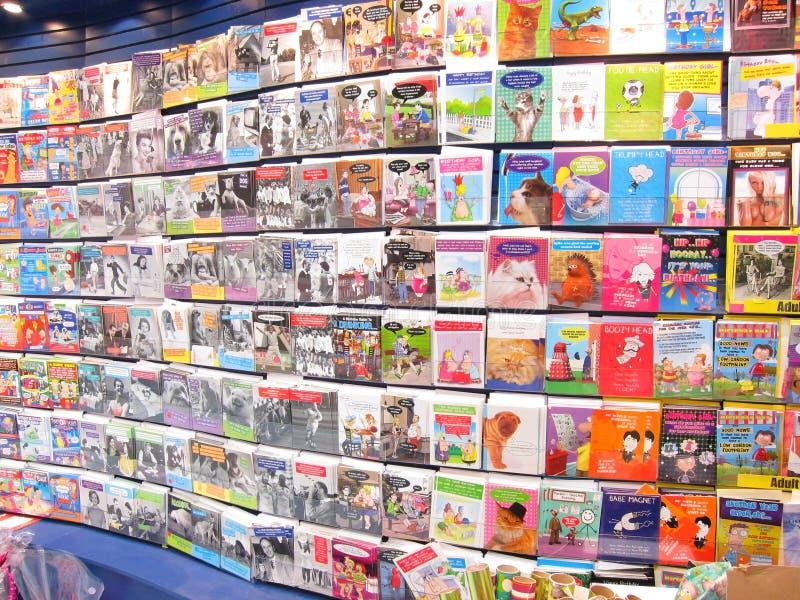 Cartões de cumprimentos. fotografia de stock