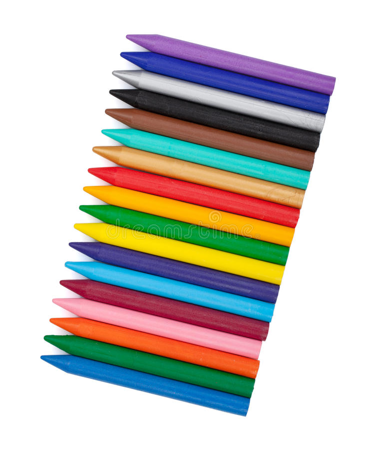 Vários marcadores da cor fotografia de stock royalty free