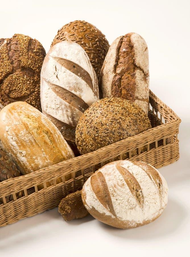 Vários tipos de pão imagem de stock royalty free
