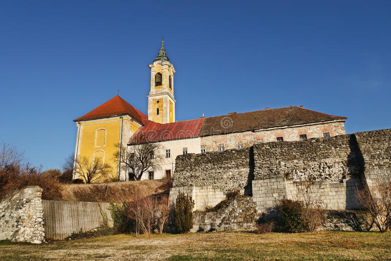 VÃ ¡的c,匈牙利天主教会 库存图片