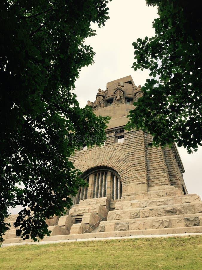 Völkerschlachtdenkmal fotografie stock