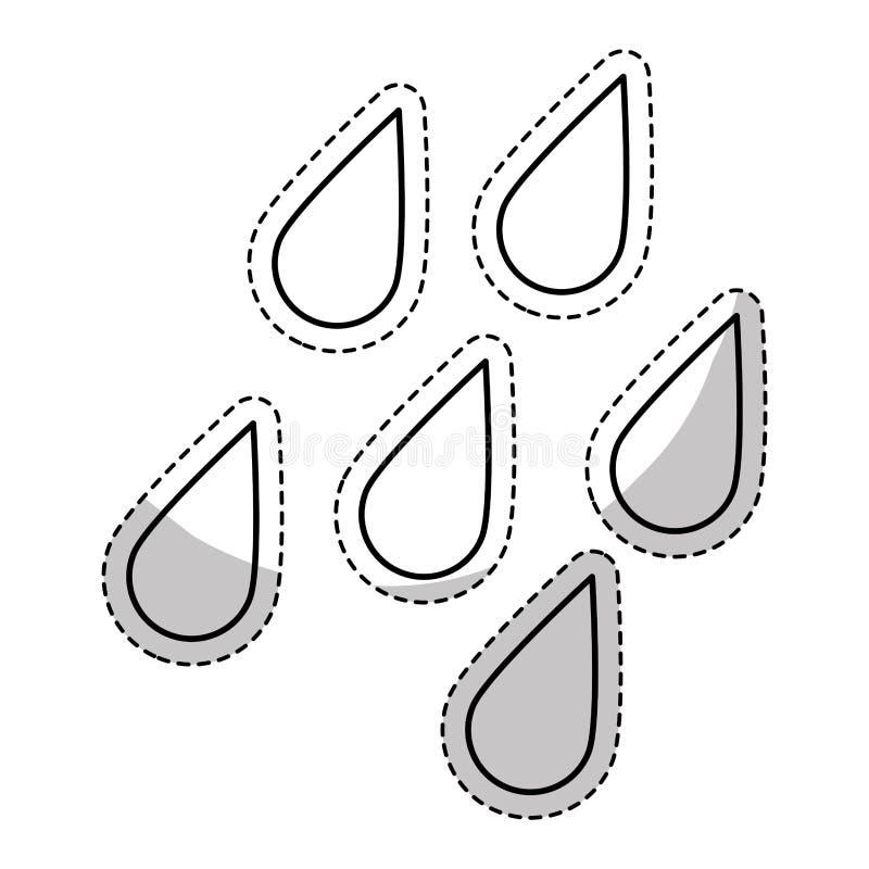 väder släkt symbolsbild royaltyfri illustrationer
