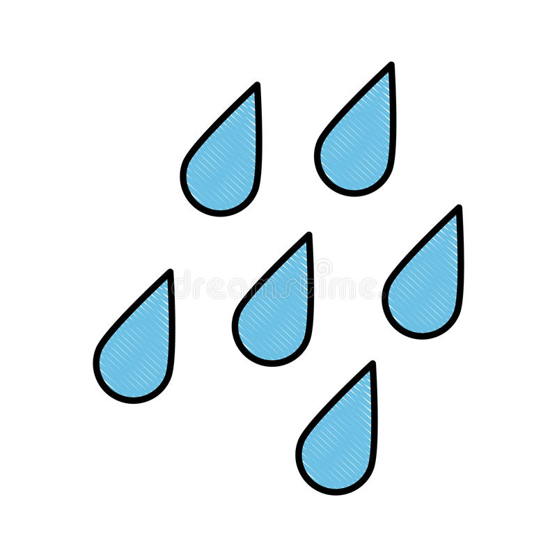 väder släkt symbolsbild vektor illustrationer