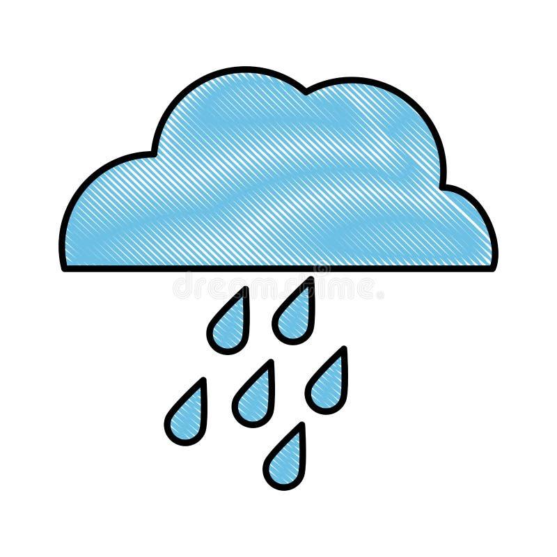 väder släkt symbolsbild stock illustrationer