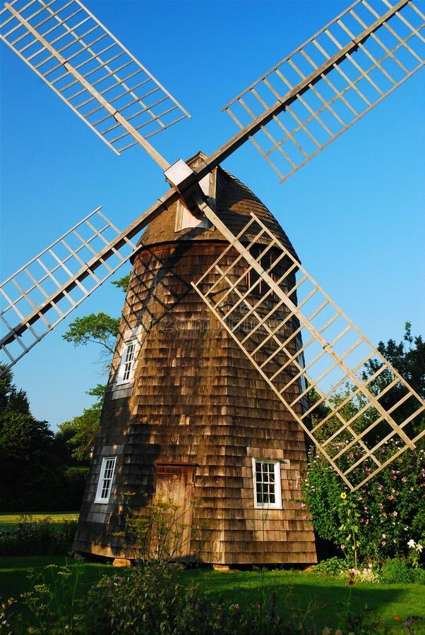 Väderkvarn i östliga Hampton arkivfoton