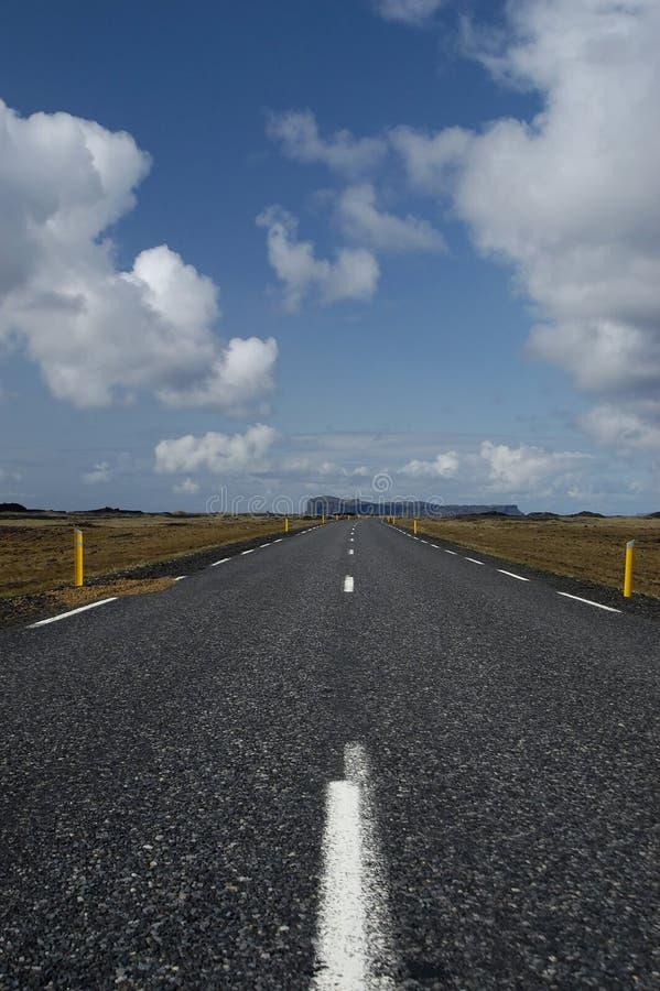 väg arkivbild