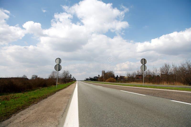 väg arkivbilder
