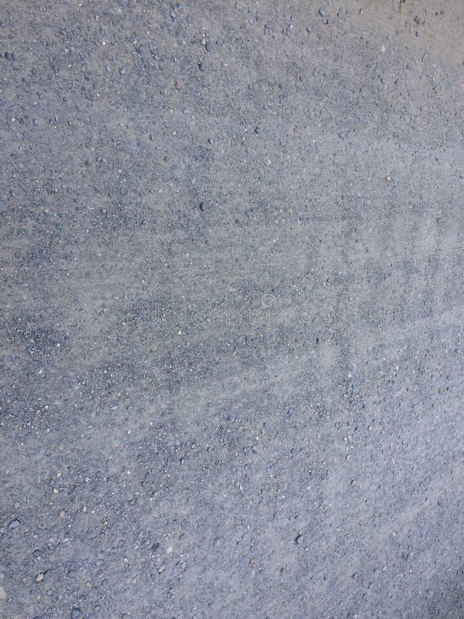 Väg från grus som bakgrund arkivfoton
