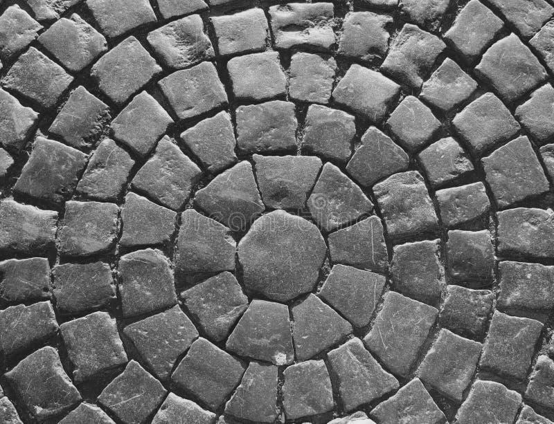Väg från stenkvarter fotografering för bildbyråer
