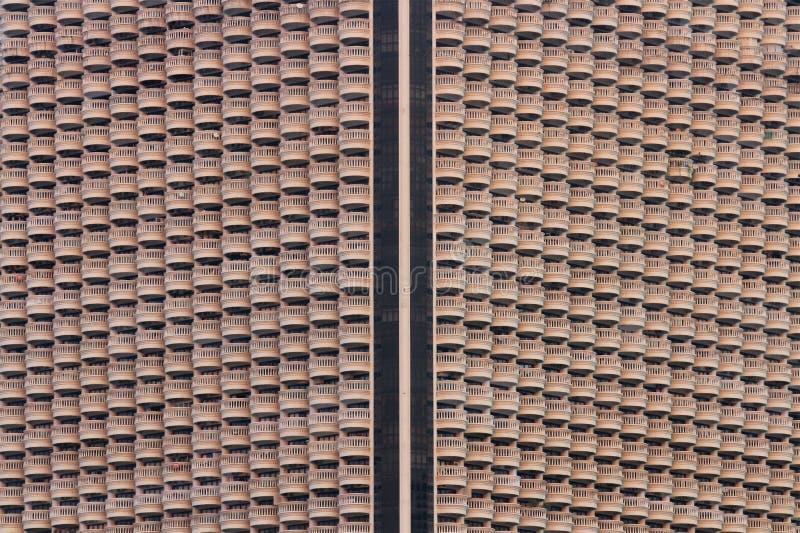 Väg på byggnad arkivbilder