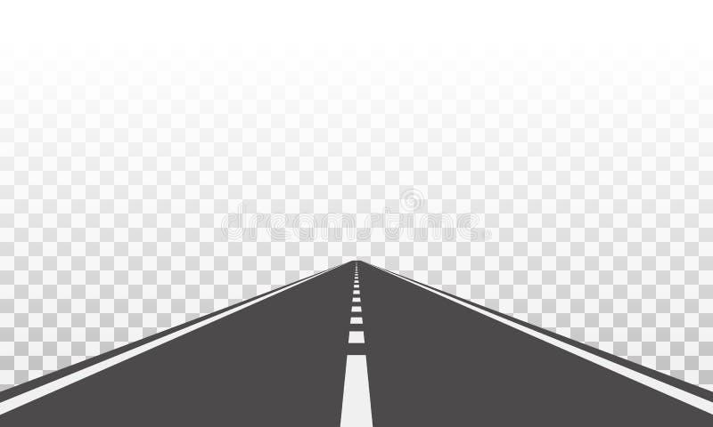 Väg vektor illustrationer