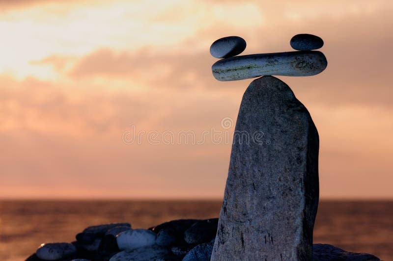 Väg stenar arkivbild