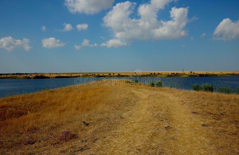 Download Väg till brunnsorten arkivfoto. Bild av kust, väg, gräs - 78728264