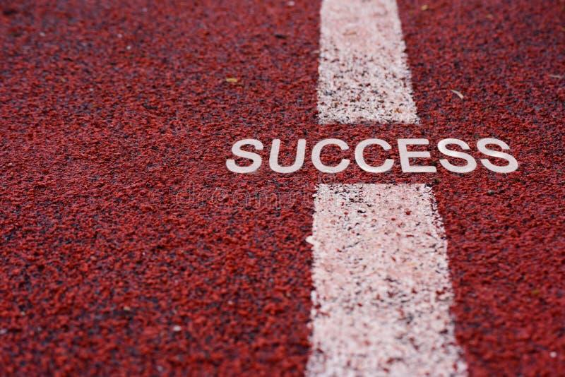 Väg till framgången arkivbild