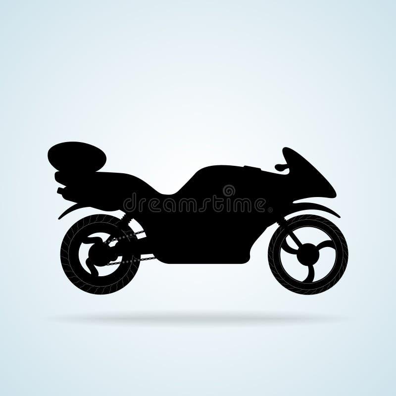 Vägcykel stock illustrationer