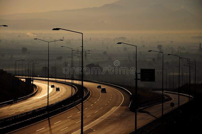 Vägen arkivfoto