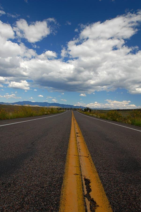 Vägen arkivbild