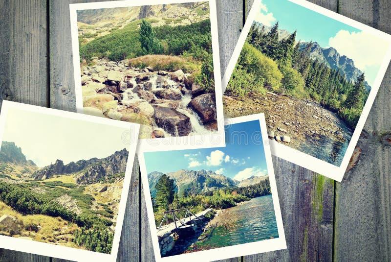 Vägen i berg arkivbilder