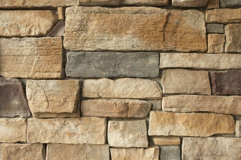vägg för 2 tegelsten arkivbild