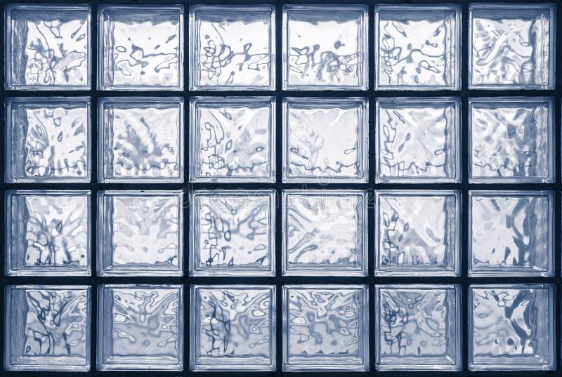 Vägg för Glass kvarter arkivbild