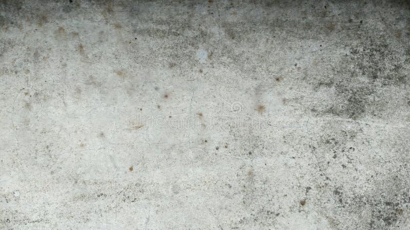 Vägg för Grungebetongcement med sprickan royaltyfri foto