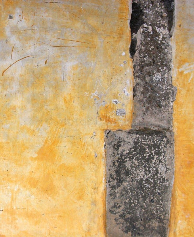 vägg för grungemålarfärgskalning royaltyfria foton