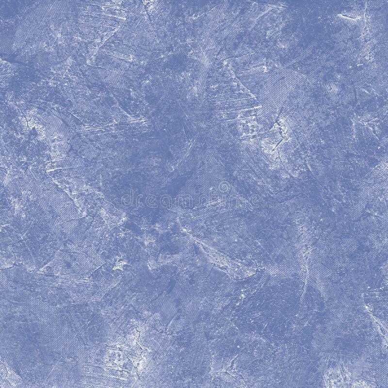 vägg för murbruk för blå grey nedfläckad royaltyfri illustrationer