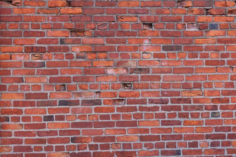 Vägg för röd tegelsten i Boston, Massachusetts - USA royaltyfri fotografi