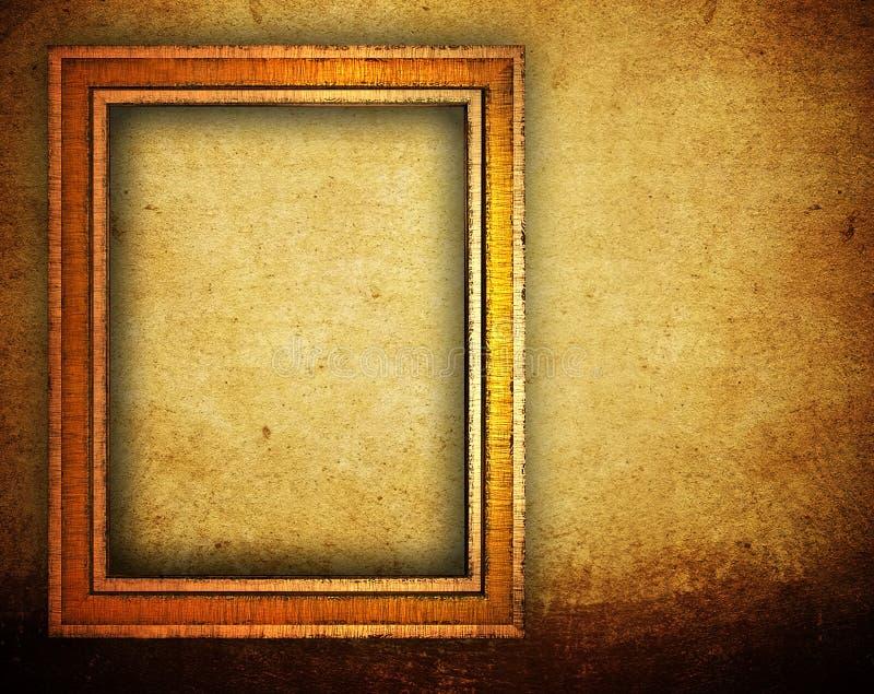 vägg för ramgrungebild vektor illustrationer