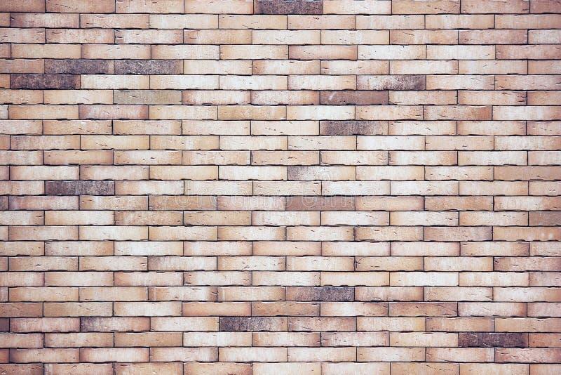 vägg för rastre för bakgrundstegelstenbild Slät tegelstenyttersida fotografering för bildbyråer