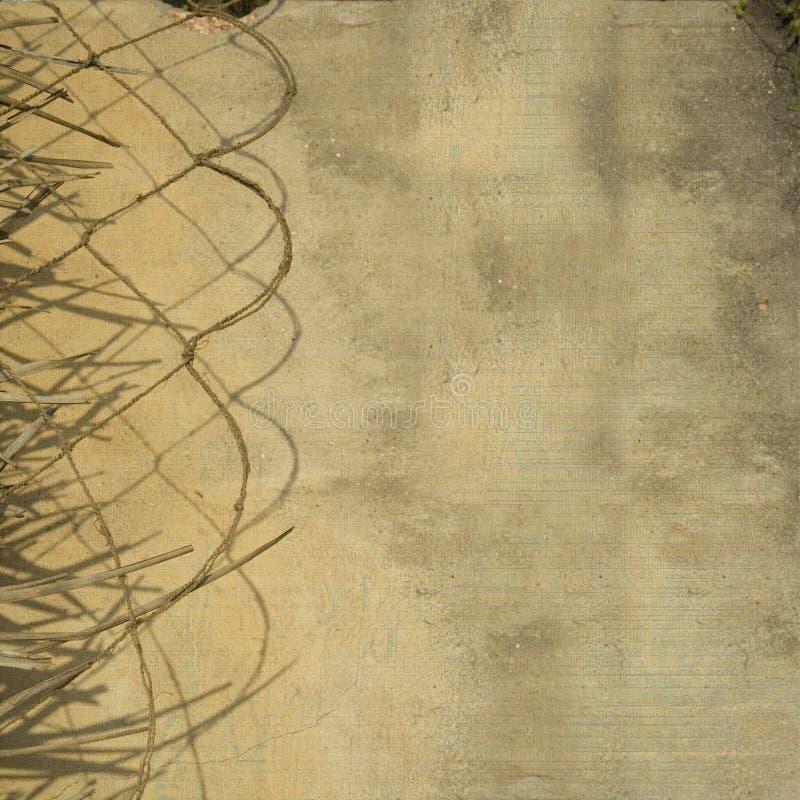 vägg för rep för leaf för bakgrundsavdelargrunge vektor illustrationer