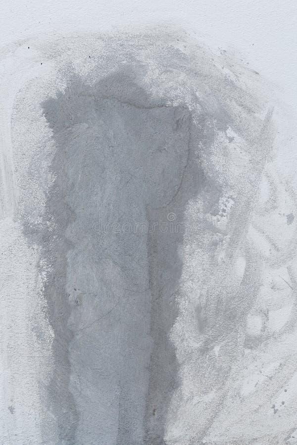 Vägg för reparationscementmortel arkivfoton
