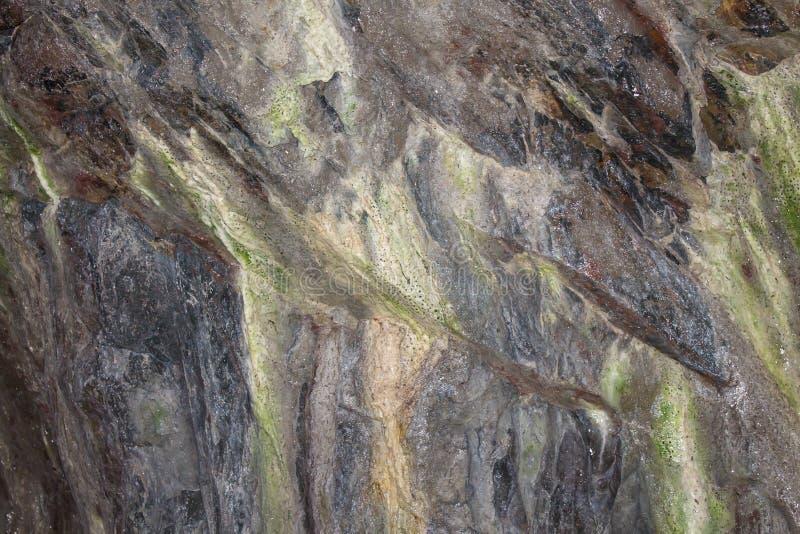 vägg för sten för bakgrundsfärggrunge arkivfoton