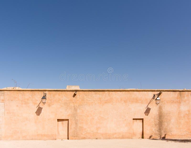 Vägg i Rabat royaltyfri fotografi