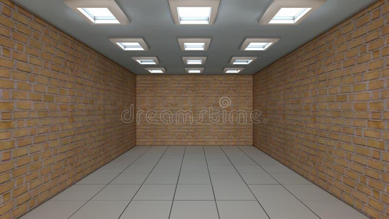 Download Vägg och golv stock illustrationer. Illustration av inom - 37348653