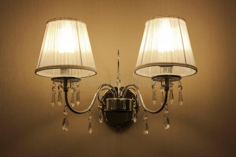 Vägglampetter arkivbilder
