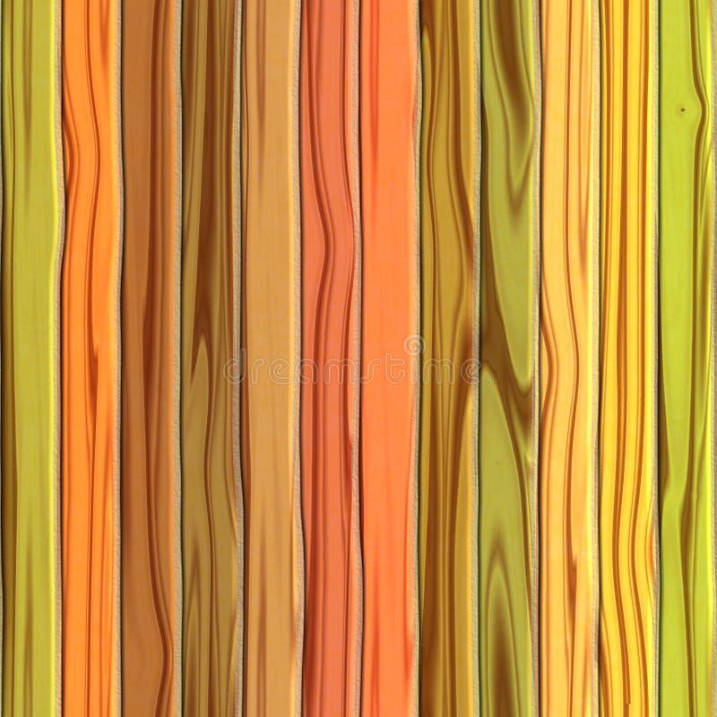 väggträ stock illustrationer