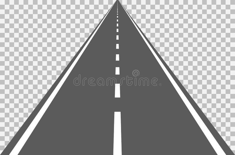 Väghuvudväg stock illustrationer