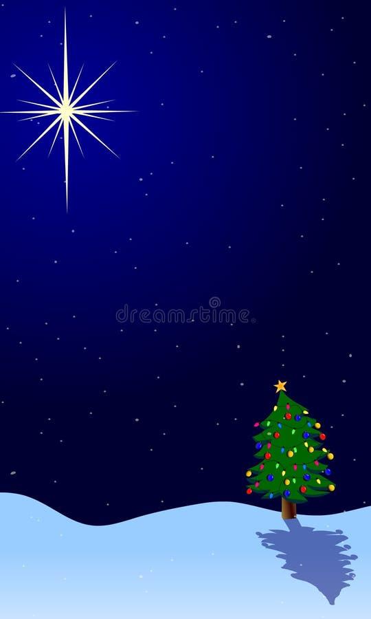 vägledande lampa för jul vektor illustrationer