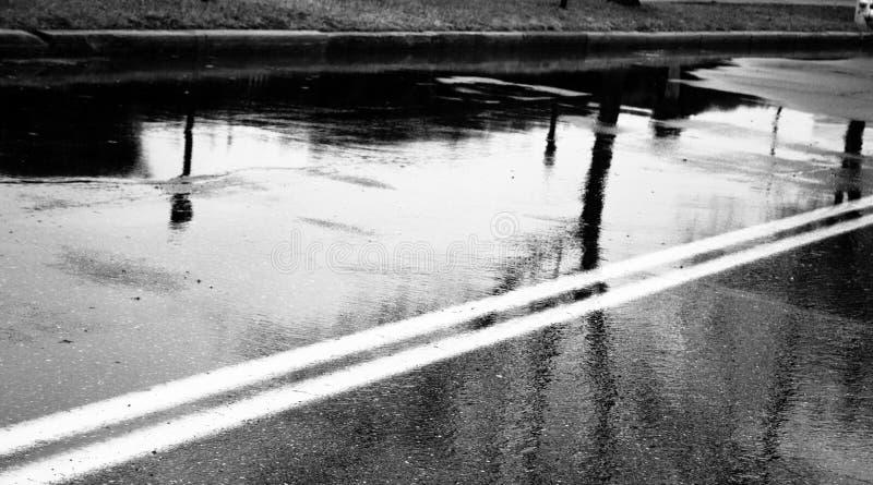 Vägreflexioner fotografering för bildbyråer