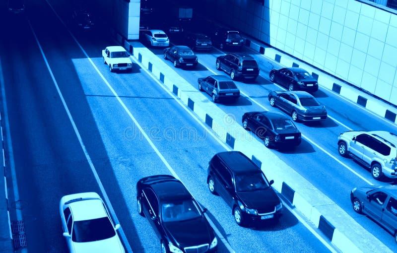 vägtrafik royaltyfria bilder