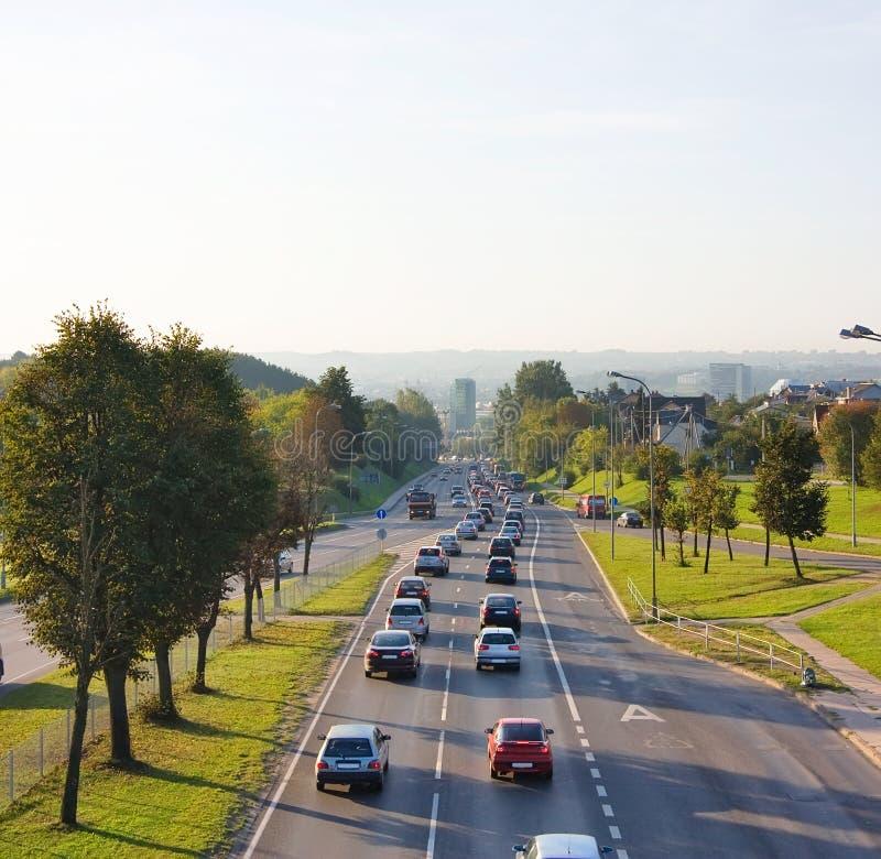 vägtransport arkivfoto