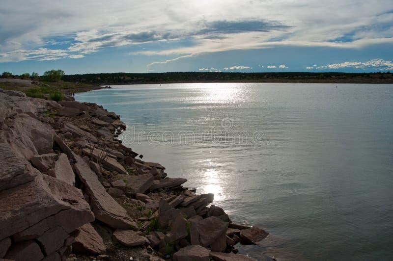 Vägtur: Santa Rosa Lake royaltyfri fotografi