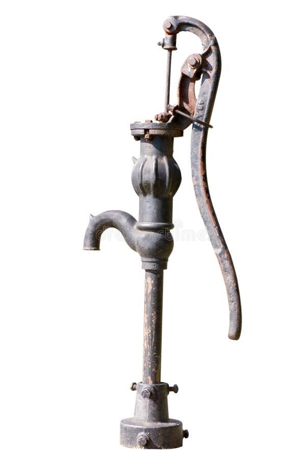 Väl pump för vatten arkivbild