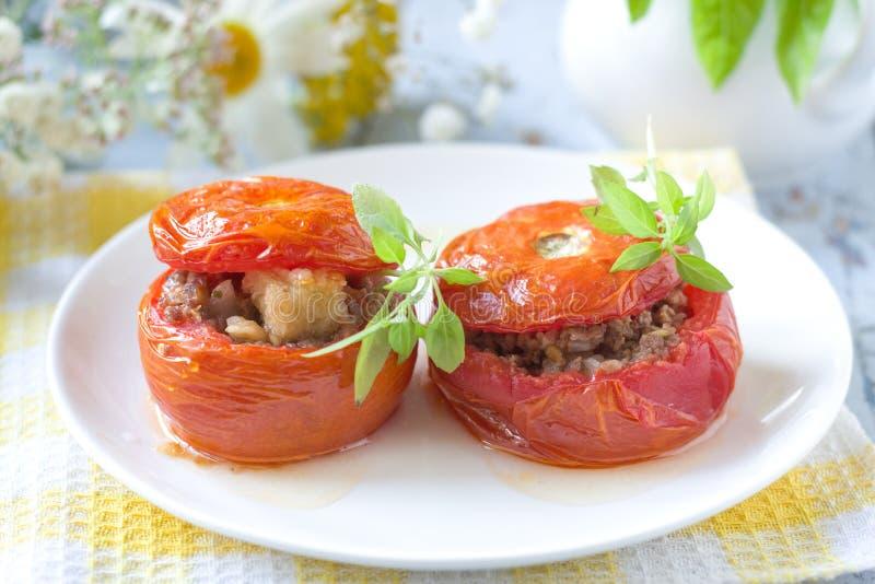 välfyllda tomater royaltyfria foton