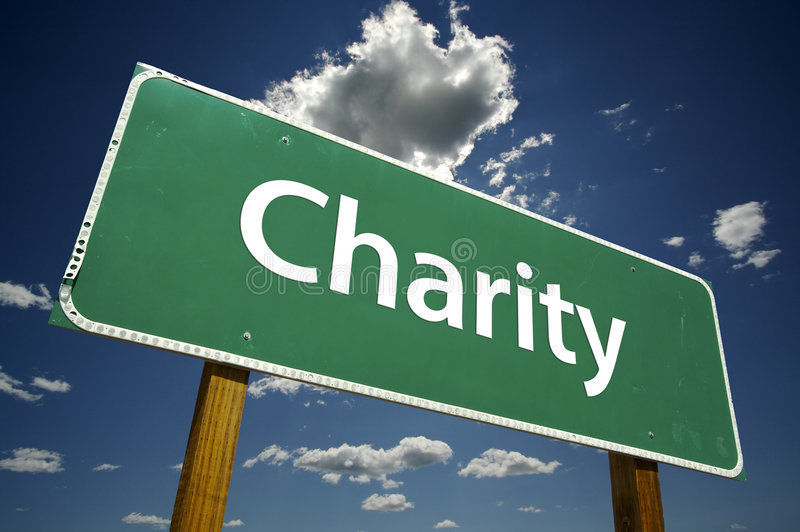 välgörenhetvägmärke