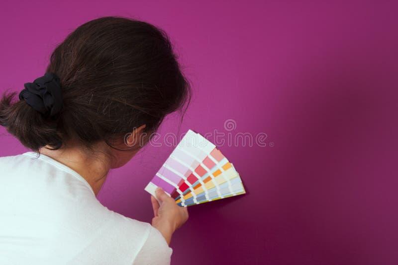 Välja färg arkivfoto